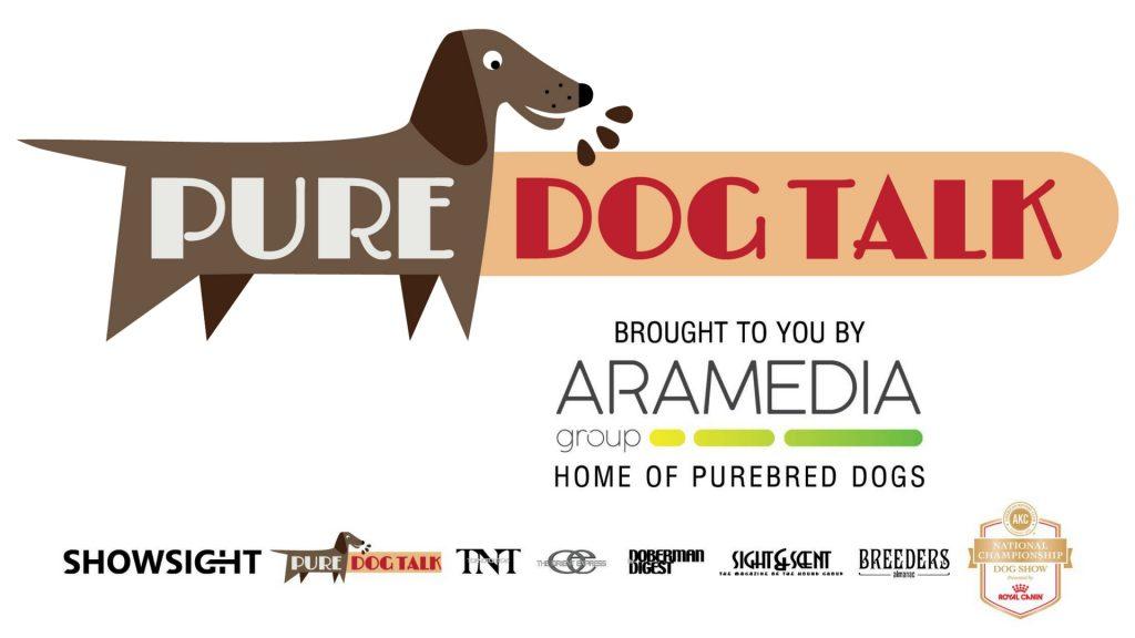 Pure Dog Talk Aramedia Logo