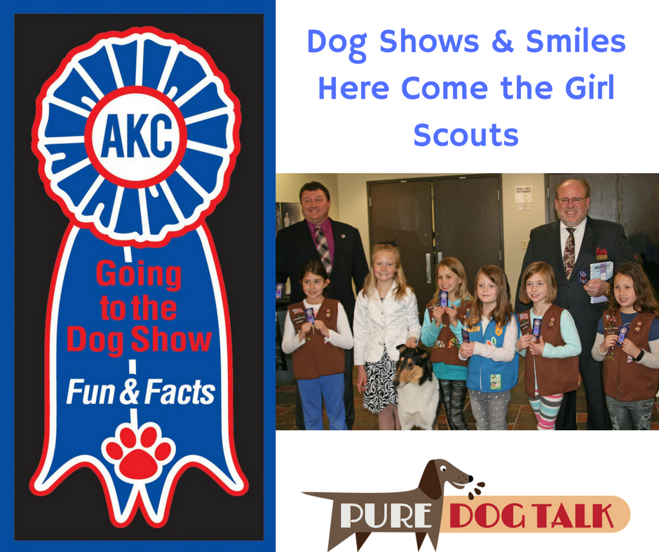 Dog Shows & SmilesHere Come the Girl Scouts