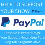 pure dog talk paypal