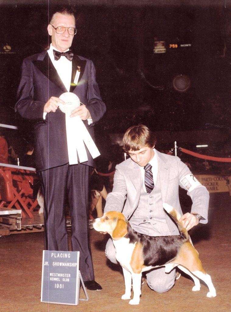Eddie Dziuk 1981 Westminster Jr Show finals