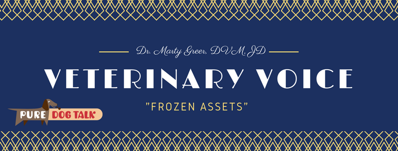 """180 – Veterinary Voice: Dr. Marty Greer Talks """"Frozen Assets"""" 