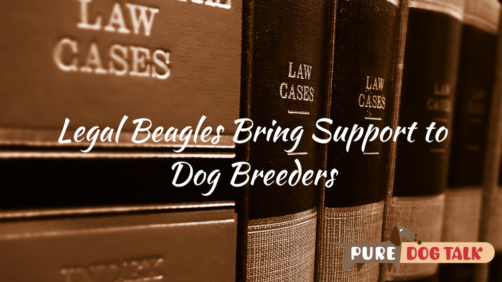 Legal Beagles Bring Support to Dog Breeders