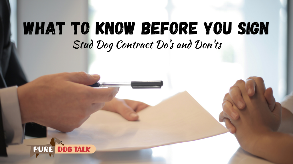 What to know before you sign
